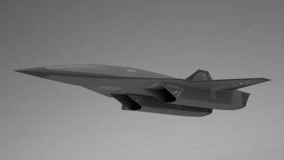 Lockheed Martin Hypersonic Spy Plane Concept