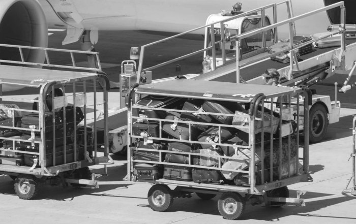 Aircraft Luggage Loading