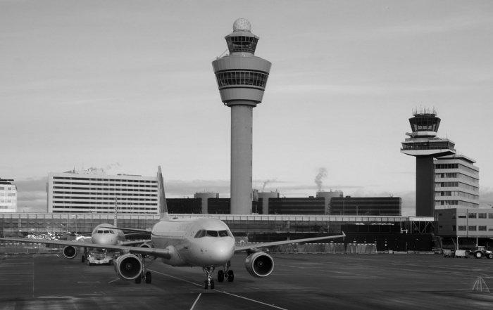 Amsterdam Schiphol Air Traffic Control Tower